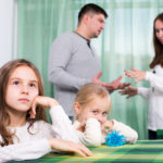 divorced family