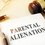 Book that reads Parental Alienation